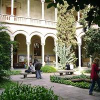 Jardí Ferran Soldevila de l'Edifici Històric de la Universitat de Barcelona