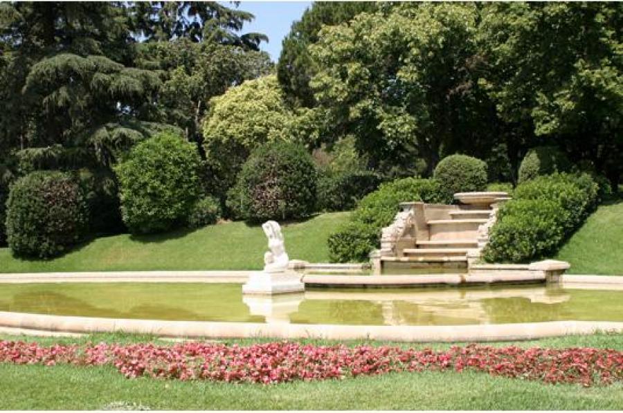 Jardins del palau de pedralbes mapa barcelona sostenible - Jardins del palau ...