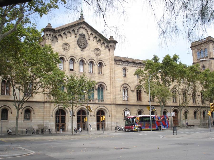 Edifici hist ric mapa barcelona sostenible - Placa universitat barcelona ...