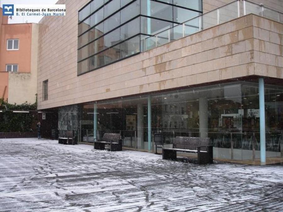Biblioteca El Carmel Juan Marse Mapa Barcelona Sostenible