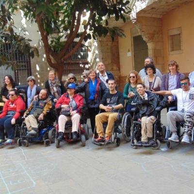 Pati Llimona Itinerari El Gòtic Accessible