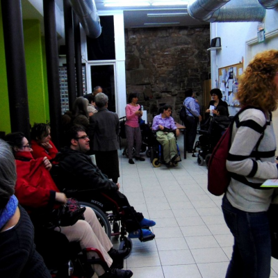 Prèvia a l'itinerari El Gòtic Accessible al C.O. Sínia