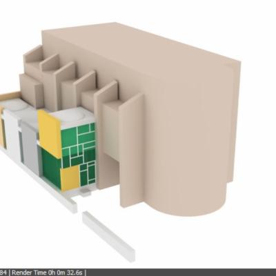 Imatge virtual del projecte Bio Bui(L)t Txema. Dins del programa Pla de Buits