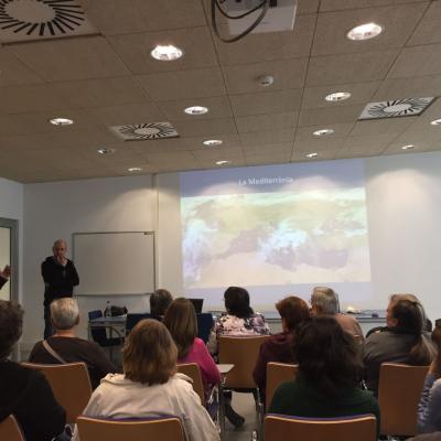 Presentació de projectes de l'Institut de Ciències del Mar