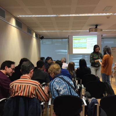 Presentació de projectes de l'ISGlobal al Parc de Recerca Biomèdica de Barcelona