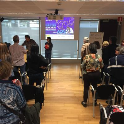 Presentació de projectes de l'Institut de Biologia Evolutiva (IBE) al Parc de Recerca Biomèdica de Barcelona
