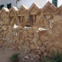 Les calcàries del Devonià al mur de la Casa Martí Trias