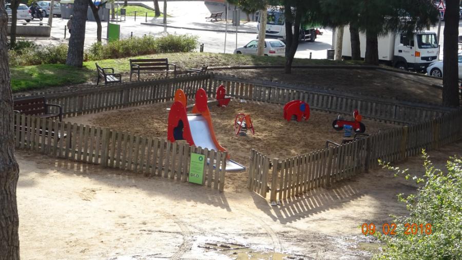 Parc infantil dels més petits