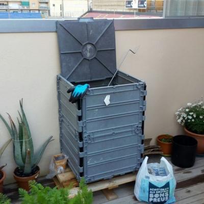 Hort i espai de compostatge
