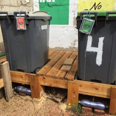 Espai de compostatge experimental