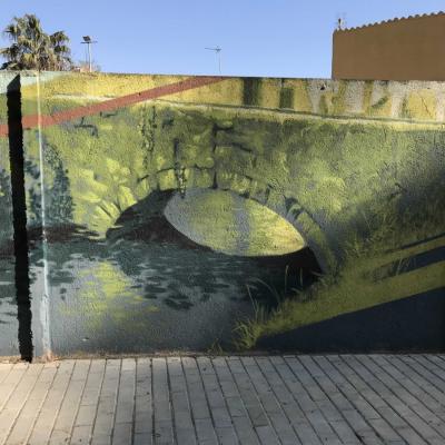 Mural Pont del Rec Comtal