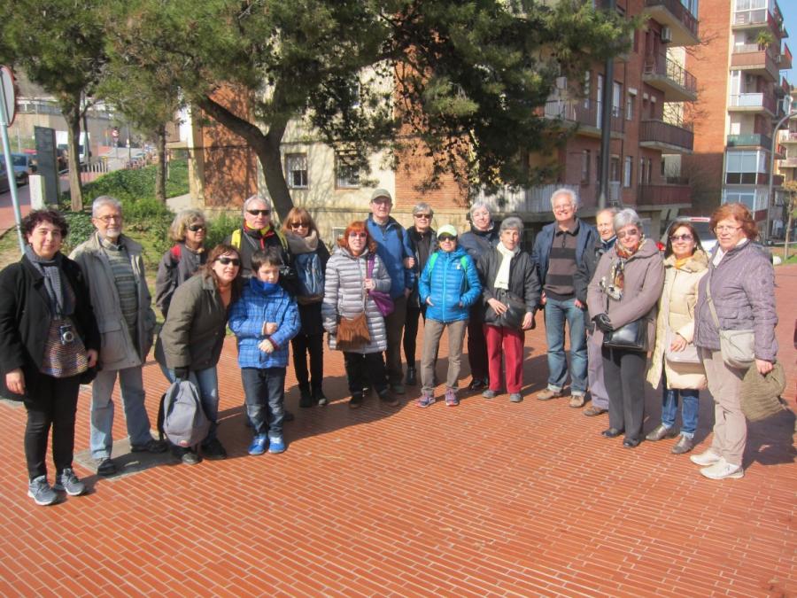Visita al Rec Comtal de l'Aula Ambiental Sagrada Familia