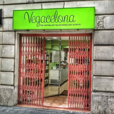 Tienda vegana en Barcelona, Vegacelona