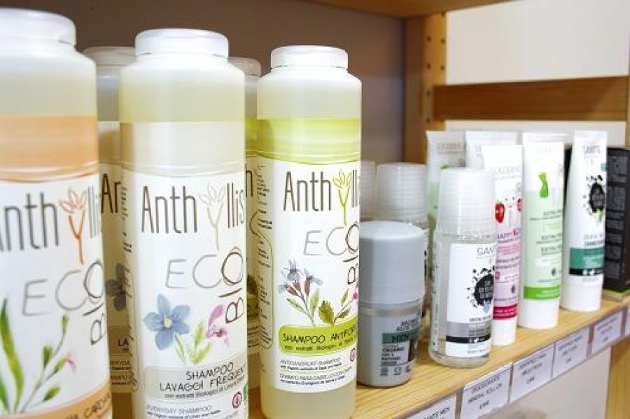 Higiene y limpieza del hogar sin crueldad animal en la tienda vegana en Barcelona, Vegacelona