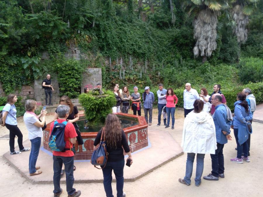 Caminades per la Sostenibilitat- 2 juny - La màgia de Montjuïc