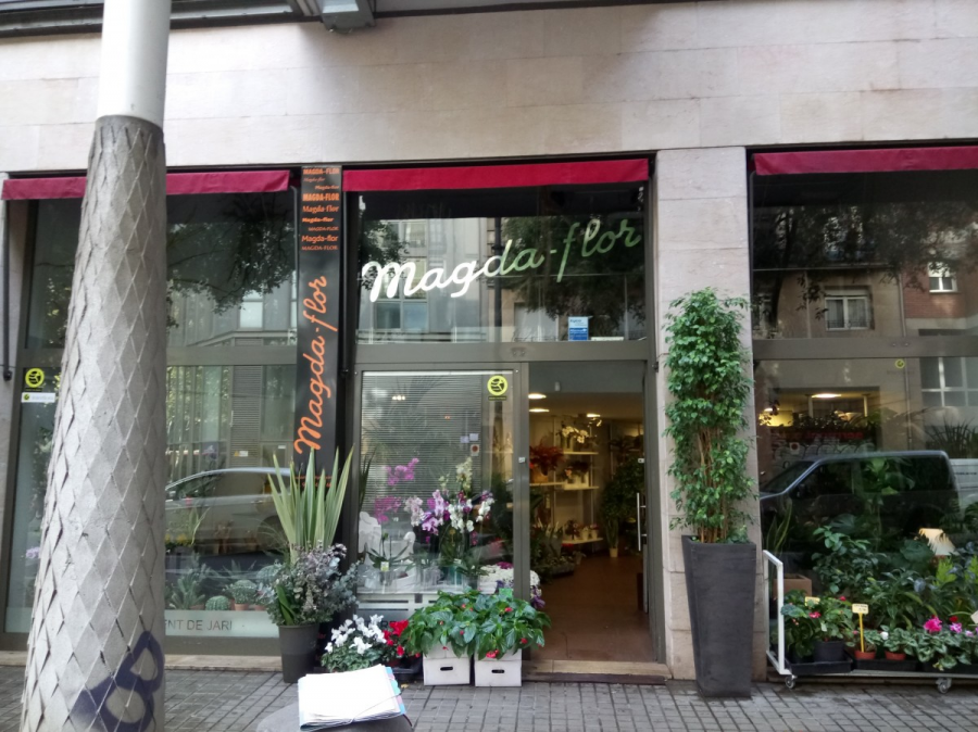 Floristeria Magda Flor Sl Mapa Barcelona Sostenible