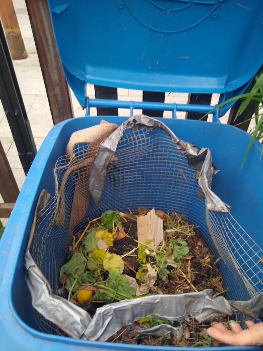 Espai de compostatge comunitari