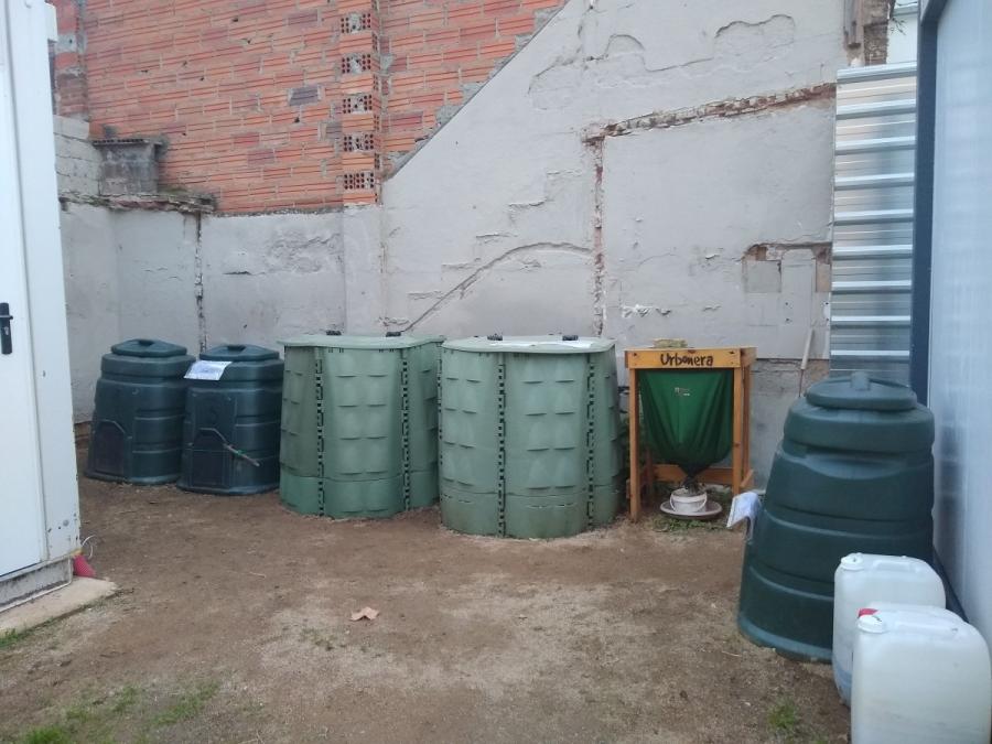 Espai de compostatge