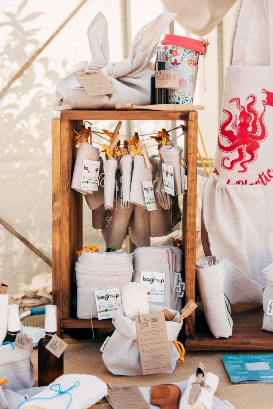 Bolsas de algodón sostenible