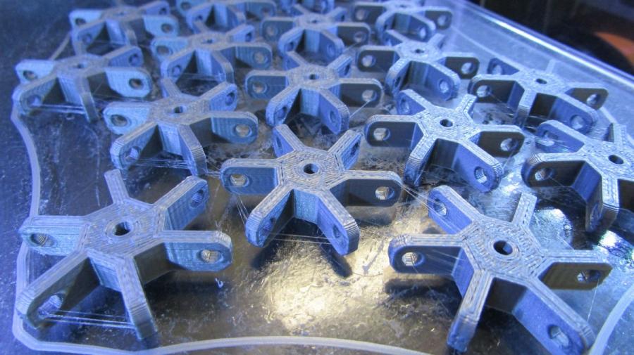 Peces creades en l'impressora 3D
