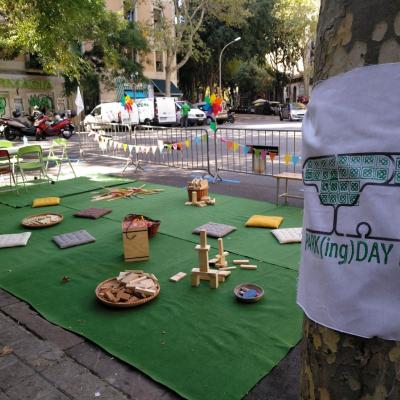 Park(ing) Day de jocs i reciclatge