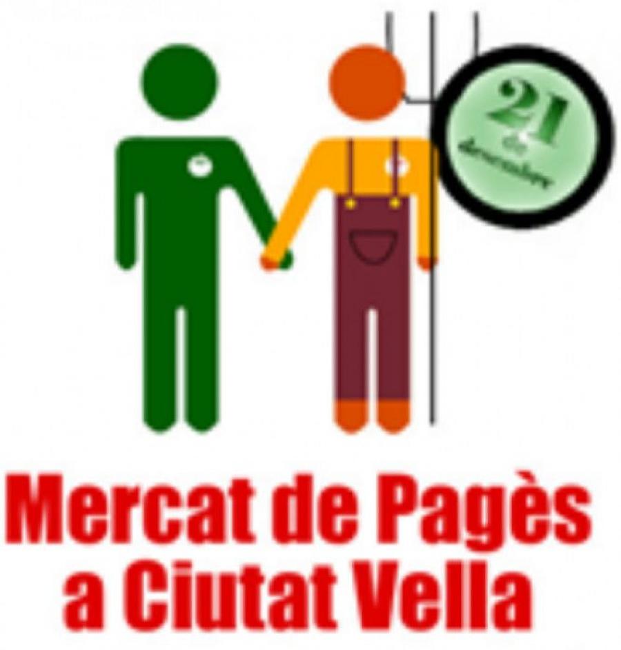Logo Mercat de pagès de ciutat Vella