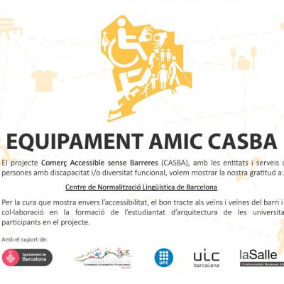 El Centre de Normalització Lingüística de Barcelona i el Projecte CASBA