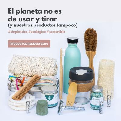 Productos sostenibles y reutilizables