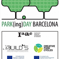Park(ing) Day 2020 > Building Urban Intelligent Living Design Solutions + Creative Food Cycles (IAAC)
