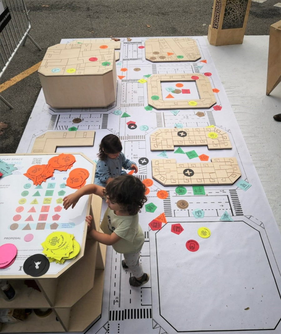 Public Play Space (IAAC) > Park(ing) Day