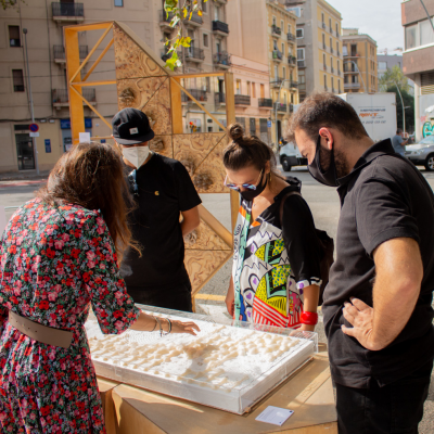 BUILDs + CFC (IAAC) > Park(ing) Day